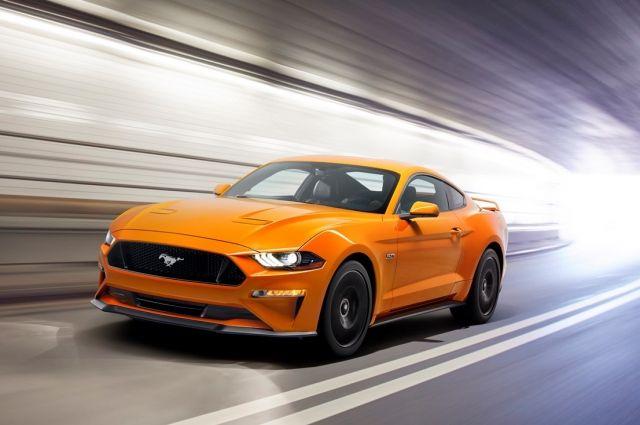Ford презентовал новый Mustang