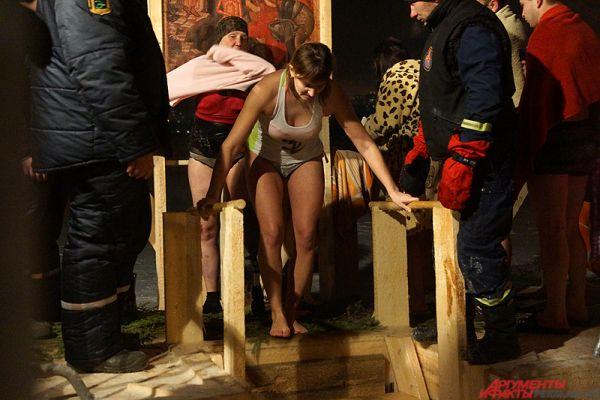 В Перми специально к этому событию власти организовали сразу три купели, расположенные в нескольких районах города.