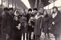 Встреча в Харькове (Николай в центре), 1968 год.