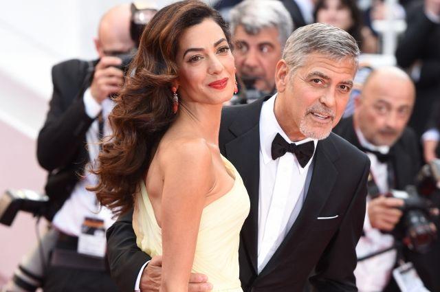 Джордж Клуни впервый раз будет отцом