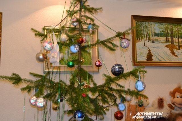 Новогодние елки, оставшиеся после праздников, можно сдать вспециальный пункт приема
