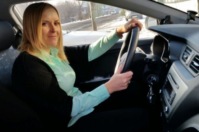 Наталья Балкова: Водить я научилась ещё в школе.