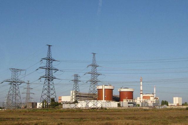 На Южно-Украинской АЭС аварийно отключили третий энергоблок
