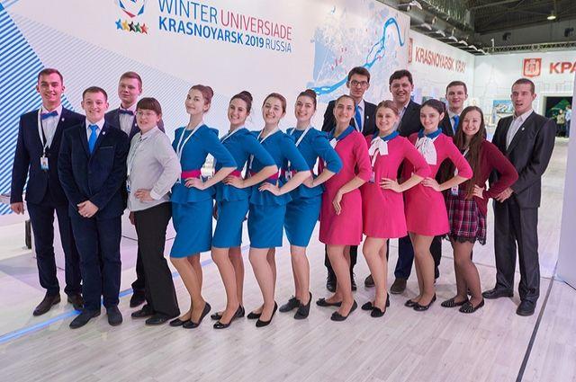 Флешмоб волонтеров вподдержку Универсиады-2017 прошел вАлматы