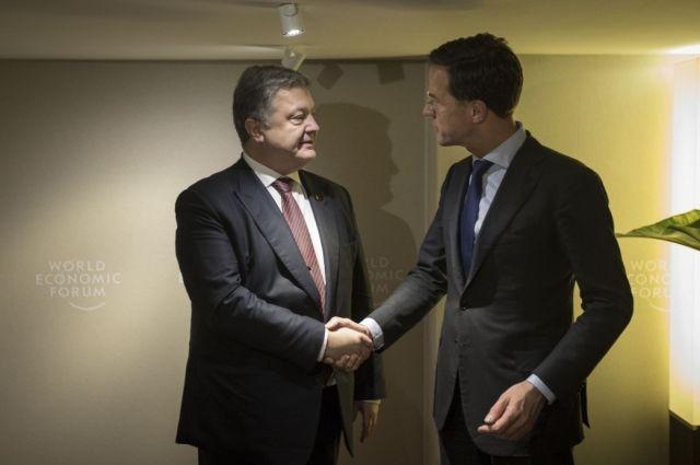 Рютте уверил, что поддерживает введение безвизового режима европейского союза с Украинским государством