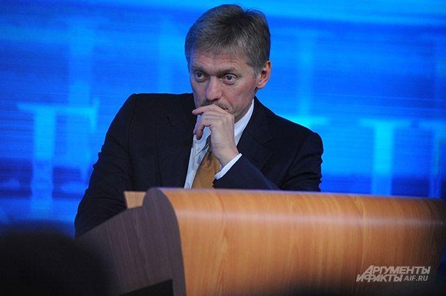 Песков надеется, что Путин будет избираться на новый президентский срок