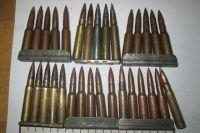 В пакете лежало около тысячи патронов.