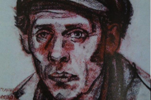 Портрет алтайского рабочего