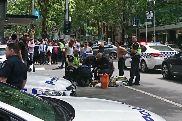 Что известно о наезде на пешеходов в Мельбурне?