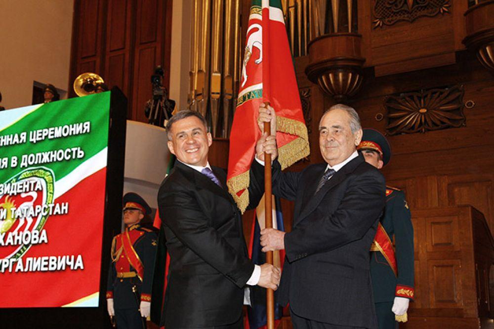Инаугурация президента Татарстана Рустама Минниханова, 25 марта 2010 г.