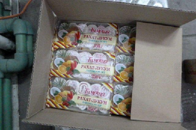 Более 6 тонн восточных сладостей не пустила таможня в Калининград.