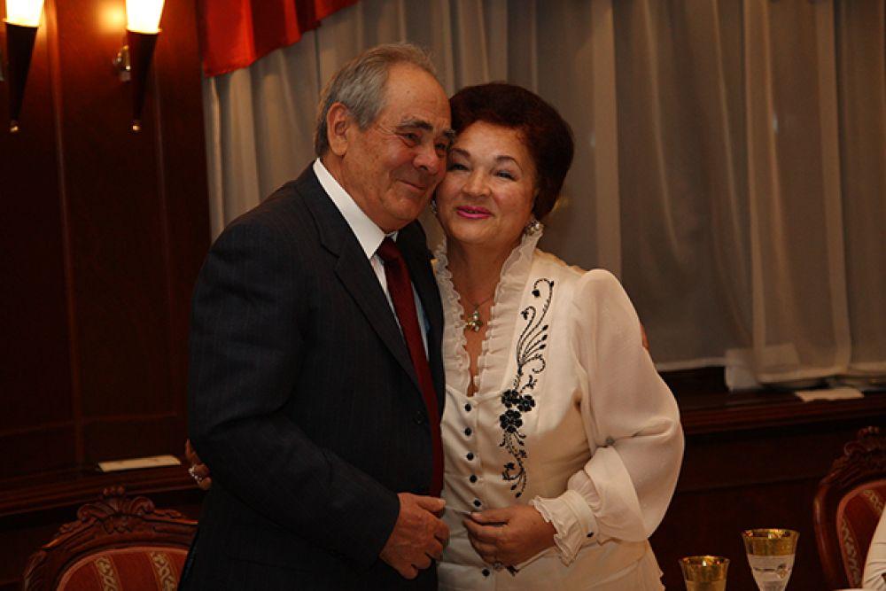 Супруги Шаймиевы в 2016 году отметили 55-летие совместной жизни.