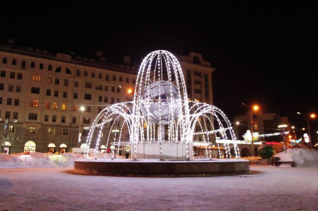 В выходные в Новосибирске будет снежная погода