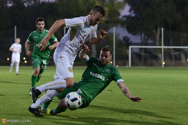 Тульский «Арсенал» сыграл вничью сболгарским «Лудогорцем» вконтрольном матче