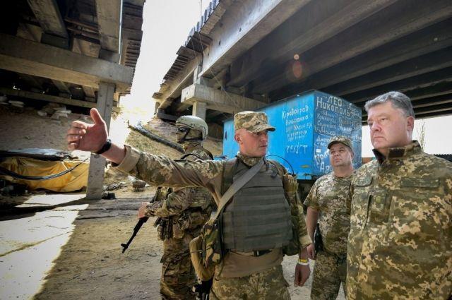 Украина намерена вернуть неподконтрольную часть Донбасса в 2017 году