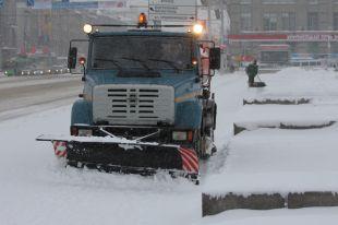 Уборка снега ведётся круглосуточно