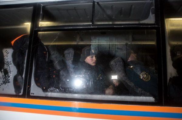 На помощь новосибирским коллегам пришли 150 военнослужащих Сибирского спасательного центра МЧС