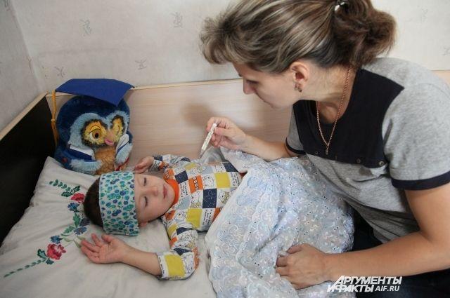Особую опасность гонконгский грипп представляет для детей.