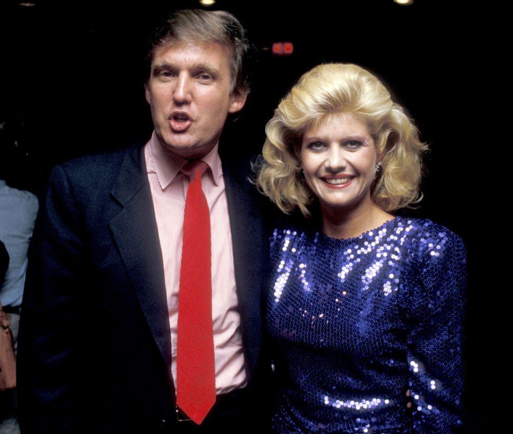 На фото Дональд вместе со своей первой женой Иваной Зельничковой. Начиная с 1977 года они прожили вместе 19 лет
