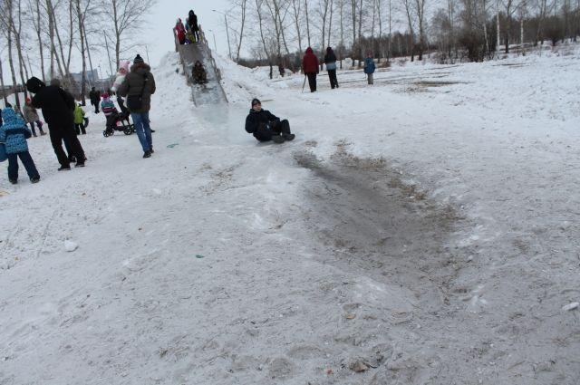 Акция начнётся в 13.00 в парке ледовых развлечений на острове Татышев.