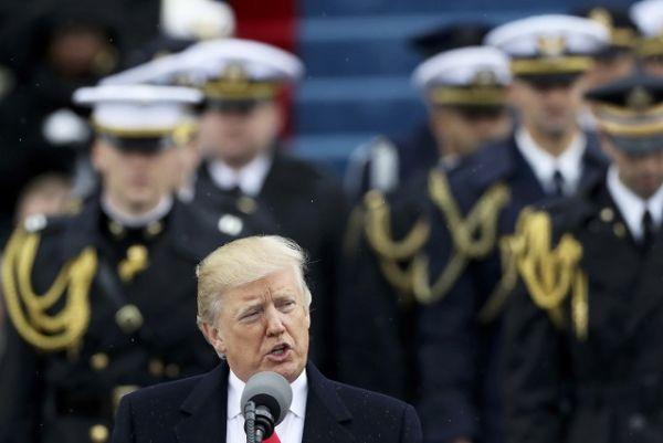 Трамп произнес вступительную речь главы Соединенных Штатов.