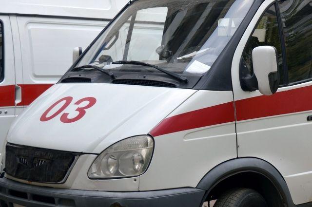 Карета «скорой помощи» соспецсигналами угодила вДТП наперекрестке вАрхангельске