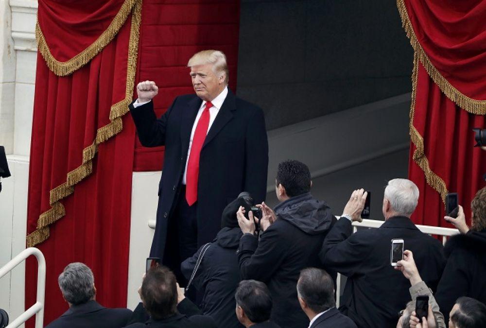 Новый президент США Дональд Трамп.