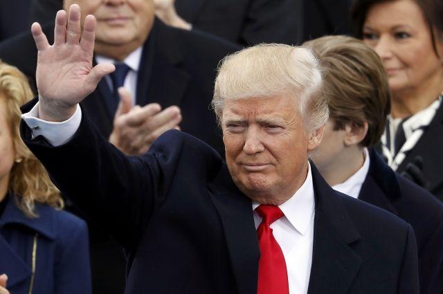 дональд трамп вступил должность президента сша