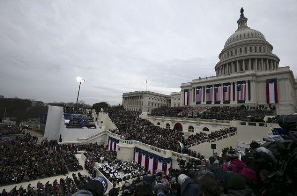 Здание Капитолия, где проходит церемония.