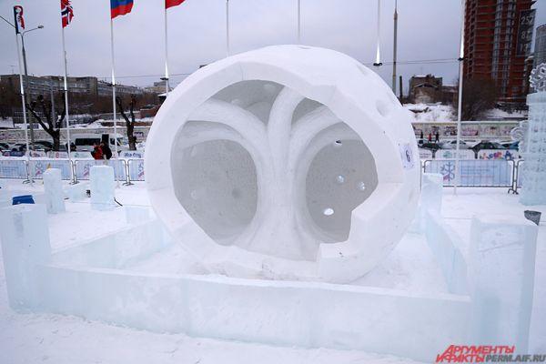 В Перми завершился конкурс по ледовой скульптуре «Зимний вернисаж».