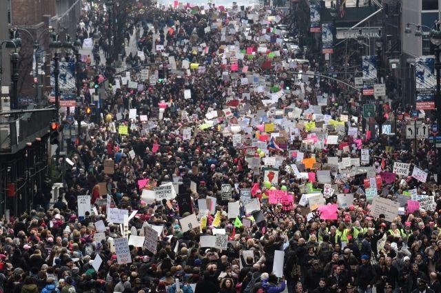 Трамп прокомментировал акции протеста против него