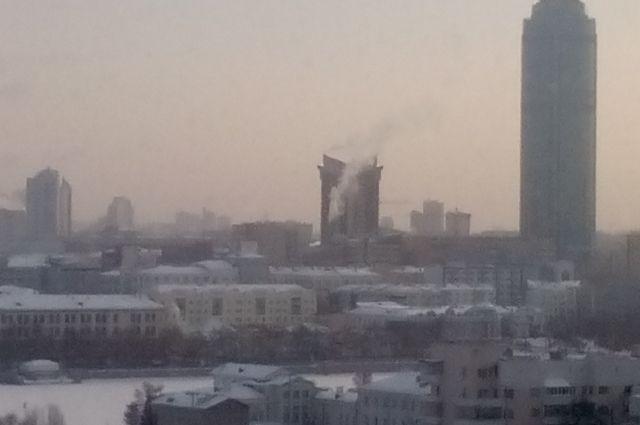 Небоскрёбы в столице Урала видны издалека.