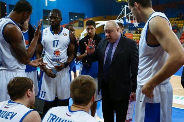 Баскетбольный «Локомотив-Кубань» навыезде обыграл Красноярский «Енисей»