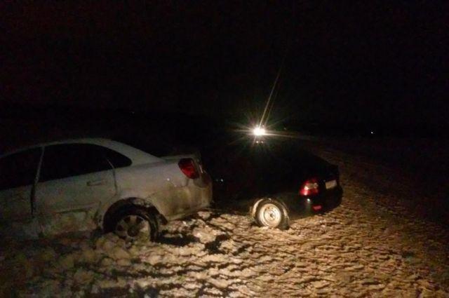 В Оренбурге в ДТП на проспекте Победы пострадали два человека