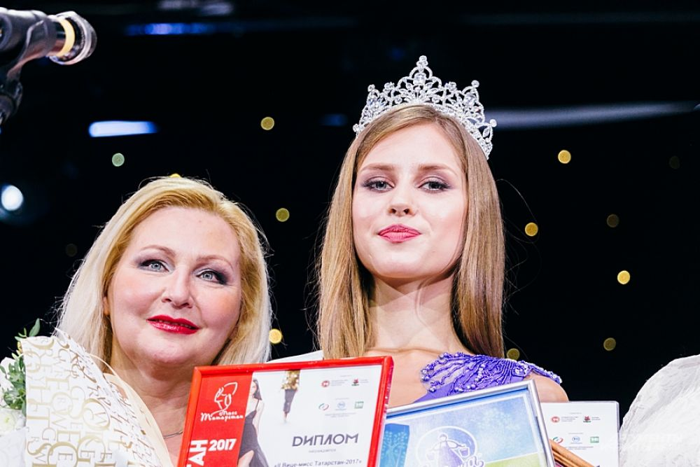 Вторая Вице-мисс Татарстан-2017 Екатерина Тебекина.