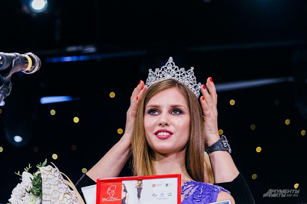 Екатерина Тебекина стала второй вице-мисс.