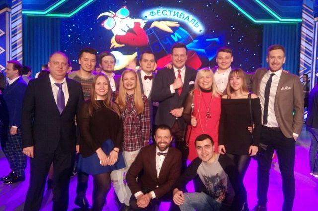 Калининградская команда впервые стала участником Высшей лиги КВН.