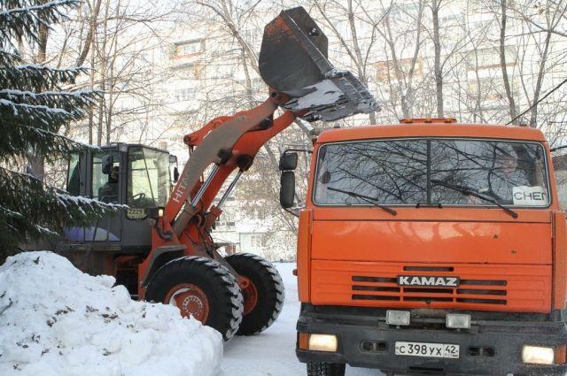 С начала сезона из столицы Кузбасса вывезли 993,3 кубометров снега.