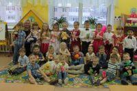 Воспитанники барнаульского детского сада