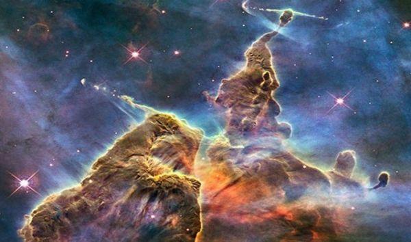 Туманность Киля - один из самых продуктивных регионов в галактике по рождаемости звезд