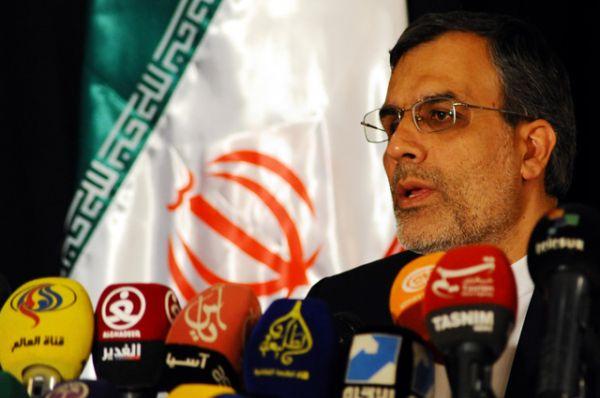 Иранскую делегацию на переговорах возглавляет заместитель министра иностранных дел Хосейн Джабери Ансари.
