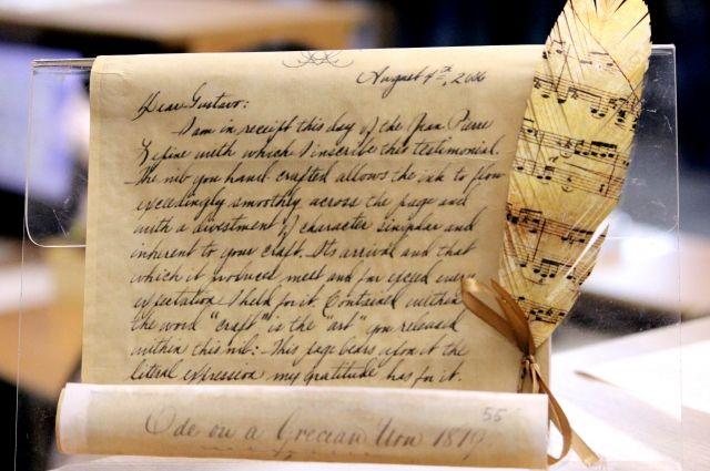 В последнее столетие ручное письмо постепенно выходит из моды.