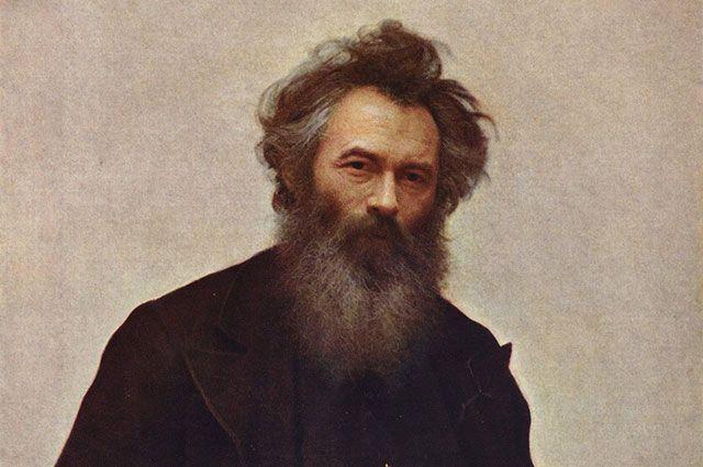 «Портрет художника Ивана Ивановича Шишкина», художник Иван Крамской.