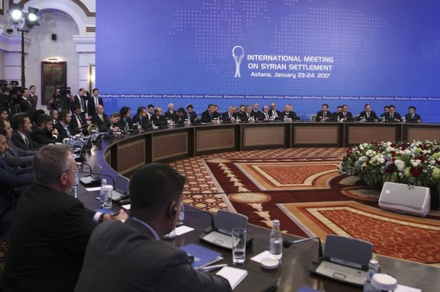 ВАстане возобновились переговоры поСирии