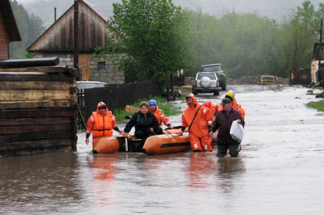 В Кемеровской области ожидается сильный паводок.