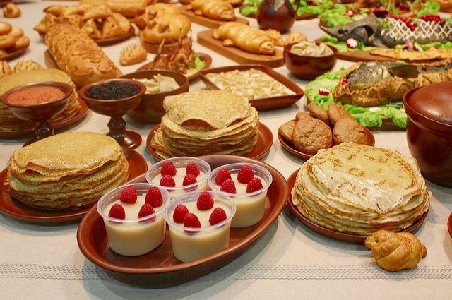 Сибирские блюда отличались ярким вкусом.