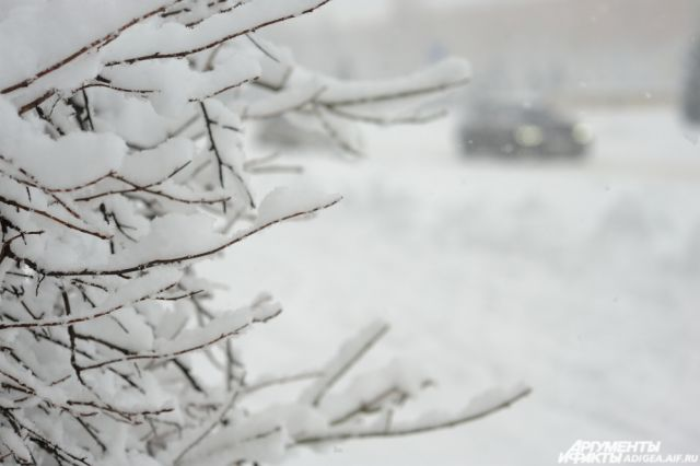 МЧС: 24января вТульской области реален мокрый снег игололедица