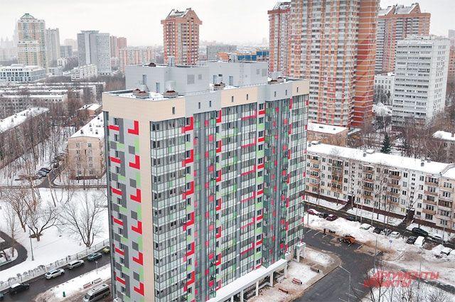 Насеверо-востоке столицы  начался снос очередной ветхой пятиэтажки