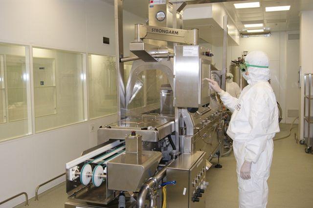 Производственное оборудование соответствует мировым стандартам.