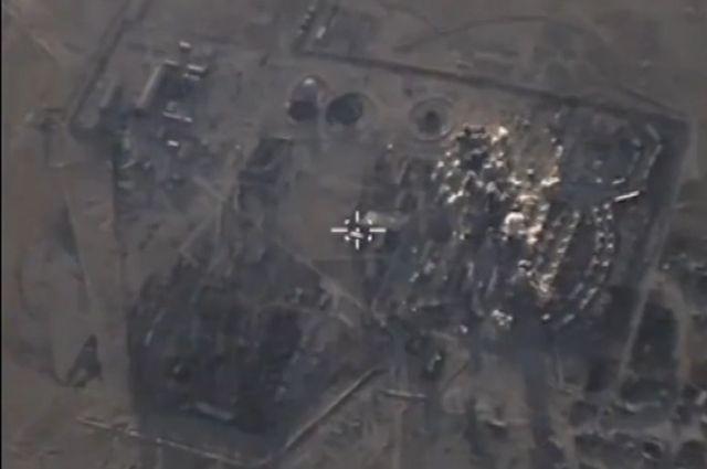 Шесть российских бомбардировщиков вылетали в Сирию